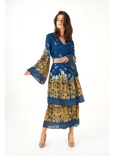 Women&Women Elbise Lacivert